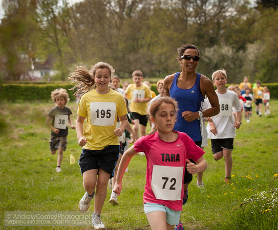 Sophie and Kelly Holmes
