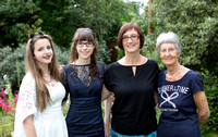 Sophie, Alexis, Theresa and Karin (Theresa's Mum)_